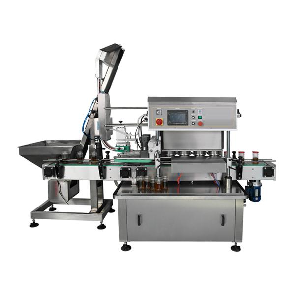 Automatic Cap Vacuum Capping Machine
