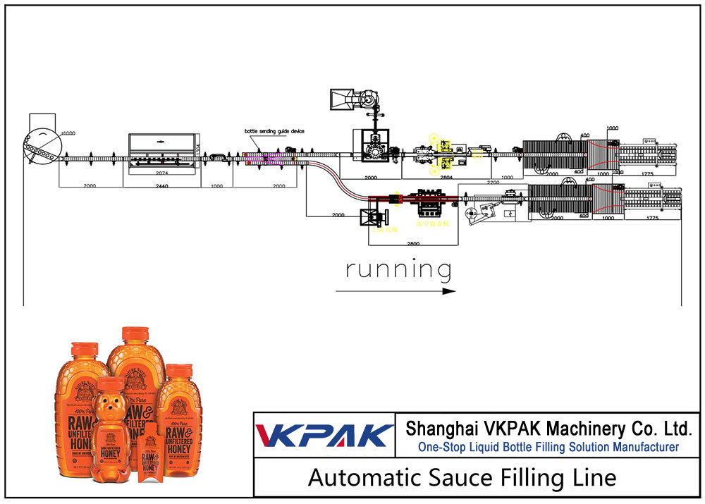 Automatic Honey Filling Line