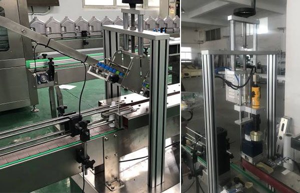 Automatic Single Head Capping Machine Details