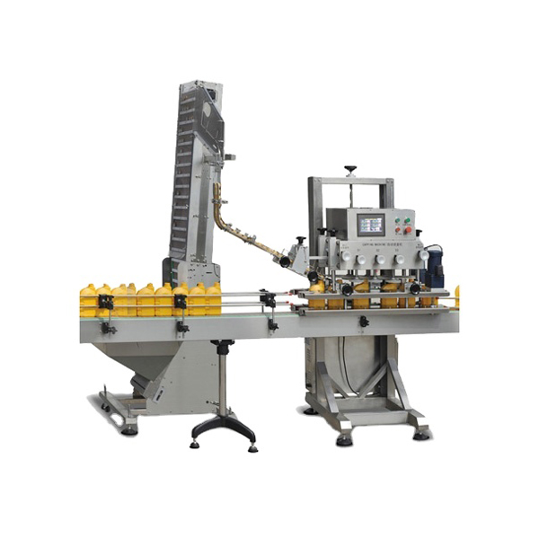 Automatic Spindle Screw Capping Machine Sale
