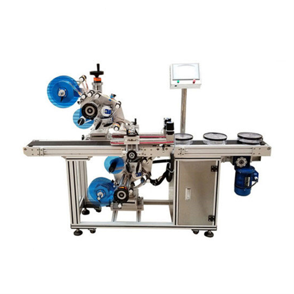 Automatic Top and Bottom Flat Labeling Machine