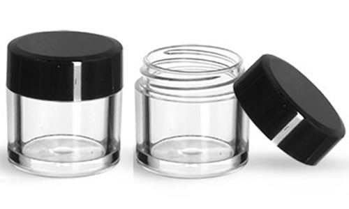 Glass Jar with Flat Caps