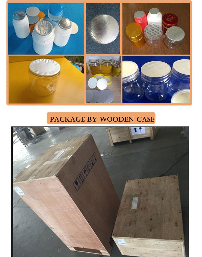 Induction Aluminium Foil Sealing Machine For Bottles Details