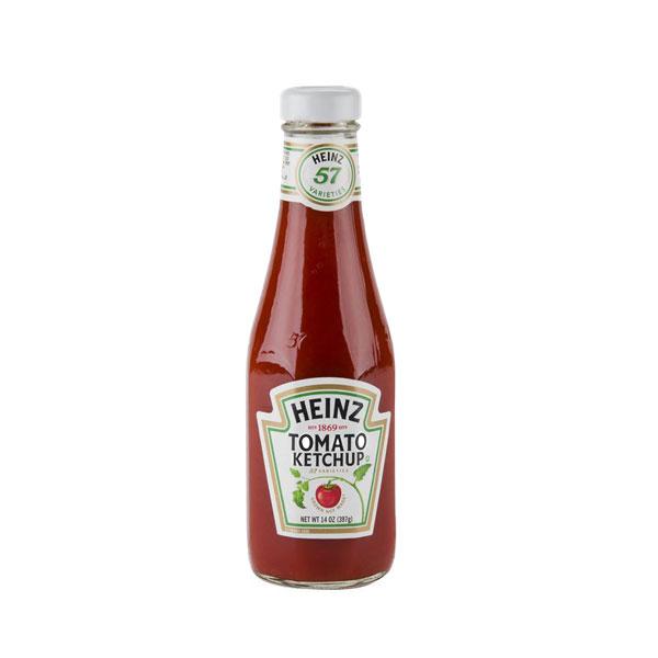 Ketchup Glass Bottle