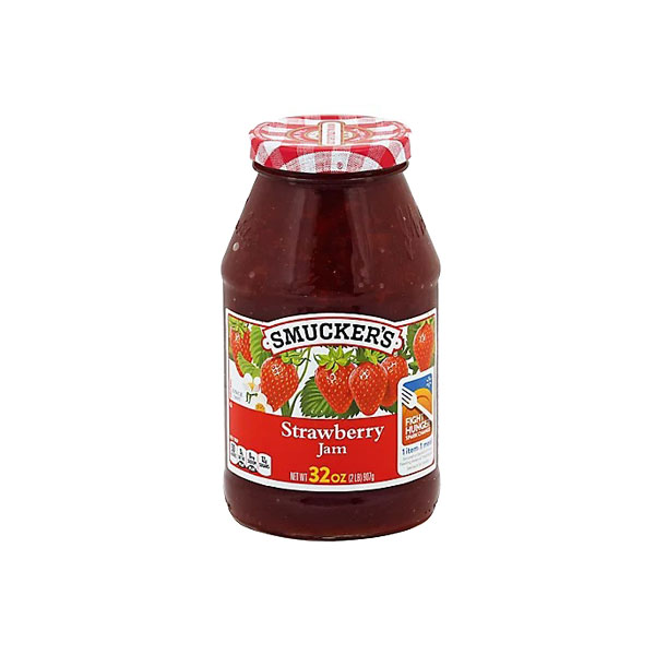 Strawberry Jam Bottle