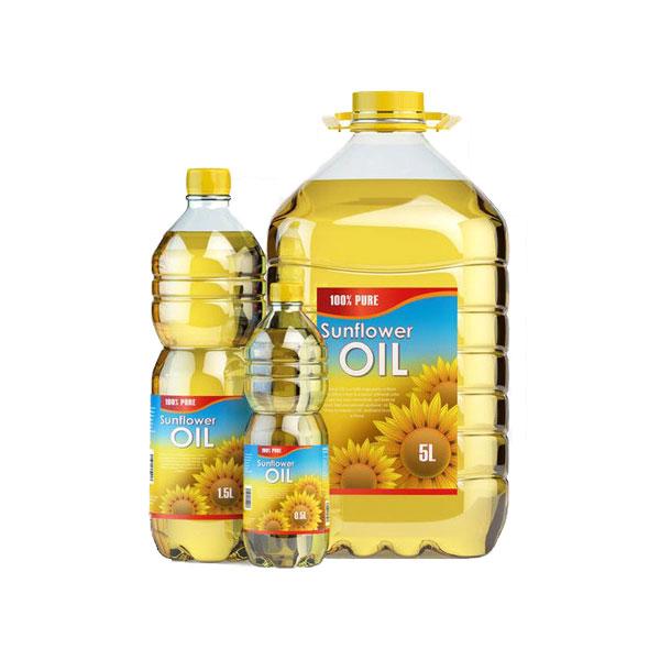 Sunflower Oil Bottles
