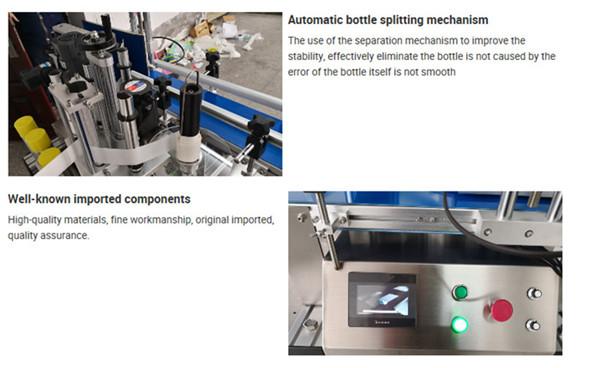 Tabletop Bottle Labeling Machine Details