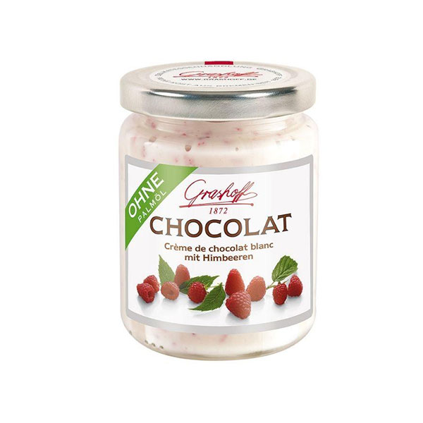 White Chocolate Spread Jar